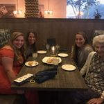 A night on the town in Arizona with great grand daughters Kylee and Amber and friend, Brooke