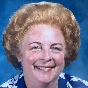 Elaine Patricia Patterson Obituary Photo