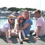 Niece Julie and her great nieces Freya, Rosie andgreat nephew Ewan - Scotland