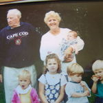 Nana and Papa with their grandchildren.
