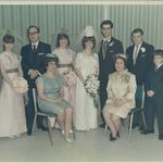 1968 Manuela and Alfred's wedding.