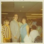 1972 Avo Francisca's visit to US. Taken at the airport.