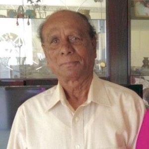 Augustine Gomes Obituary Photo