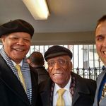 Judge Jones with C.G. Newsome and Richard Dana before an event at the White House.