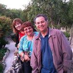 Tony, Sister Rina, Wife Cindy