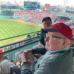 Dick and Peter at Fenway 2019