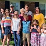 Mom and the grandkids - Easter 2019