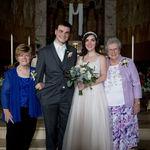 Grandma with Gran, Stephanie, and Ben.