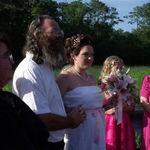 MY daddy walking me at my wedding