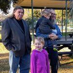papa jo, Papa ed and Kylian and rani