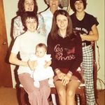 Fran (cousin), Granny Pauline Davis (grandmother), Tony (cousin), Shirley, Pam (sister), Claire (daughter)