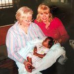 Shirley, Pam (sister), Melea (niece)