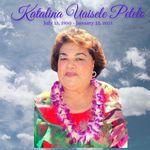 Portrait of Katalina Uaisele Petelo