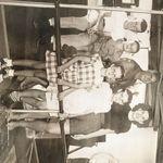 Divine Family Abord the Ulana - 1947
