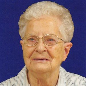 Sr. Lucille Y. Blais, CSC