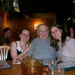 Grandpa with Melanie and Robyn