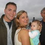 Devlin and Susannah and their niece Celeste with proud granddub