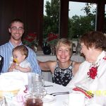 Jason, Jayden, Cheryl and Gretchen at Maryjane and Jeremy's wedding.