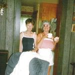 Mom & Aunt Belva