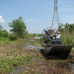 Seth in Airboat 2008