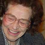 Mimi on her 95th birthday, October 2011.