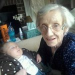 Mom was able to hold her 24th Great Gand Child on her last good day