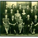 Complete Mueller Family-Ray is second from right in the back row.