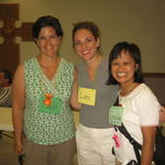 Paula with VBS Gropu Leaders, Lori Robinson and Imee Margulies