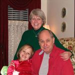 Keith Carolyn and Sarah (our Granddaughter)
