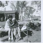 Grandma and her Grandma Leanna Tom