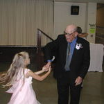 Dad dancing with LeAnna