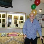 Tony at Eastside Vineyard 1st anniversary , this year - 2012