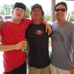 Matt, myself and my cousin's husband Sammy at legendary Rio Bravo Motocross Track....Matt is my mechanic!