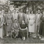 The Whisnant's left to right Ralph,Norm, Edith, Bud, Blake, Fallon, Dorothy, Danny & Martha. Seated Thurman & Hilda
