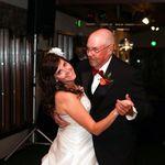 John dancing with his daughter Erin at her wedding October 8, 2011