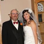 Dad and Erin pre wedding