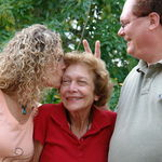 Margie with Gary and Marla ~ Our Personalities in a Nutshell ~ 2005