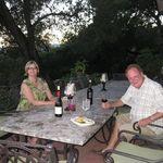 Gary and Sharon enjoying the California wine country for Sharon's Birthday  ~ summer 2010