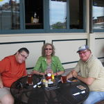 Marla and Jeremy with Gary in Baltimore 2012