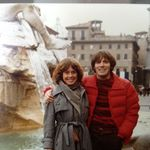Steve and Gretchen, Rome, 1979