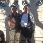 Larry and Grandpa