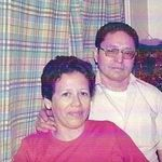 Roberto and Zoila Urrutia on Christmas 1976