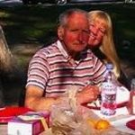 We all loved to share picnics throughout our lives and when Mom passed, we kept the tradition alive.  Here Dad and I are at Verdugo Park again. A very special park.  Look how healhy Dad looks.  Hard to believe less than 7 months later, he would be gone...