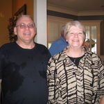 Sandy with Steve at the 2012 Stewart Reunion. Joy to all our hearts!