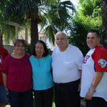 Mother with son David, Margaret, Dad and David Jr
