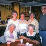 Madge and Hank with the Rykala sisters, Jane, Fran, Anna  We will miss you Madge