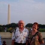 With Deborah, Washington, D.C. 2003