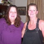 """I loved """"Aunt"""" LaDonna like she was my real Aunt. This was on my 21st birthday."""