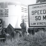 Long-Haul Trucking before there were freeways.