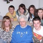 Grandma Betty with her grandkids...they were her whole world!